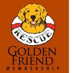 40104 GOLDEN Friend Membership White